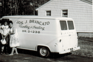 Burlington Plumbing and Heating before changing our name in 1960